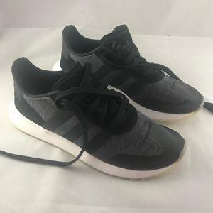 Adidas FLB Runner Shoes Women's Size 8 Gray Black